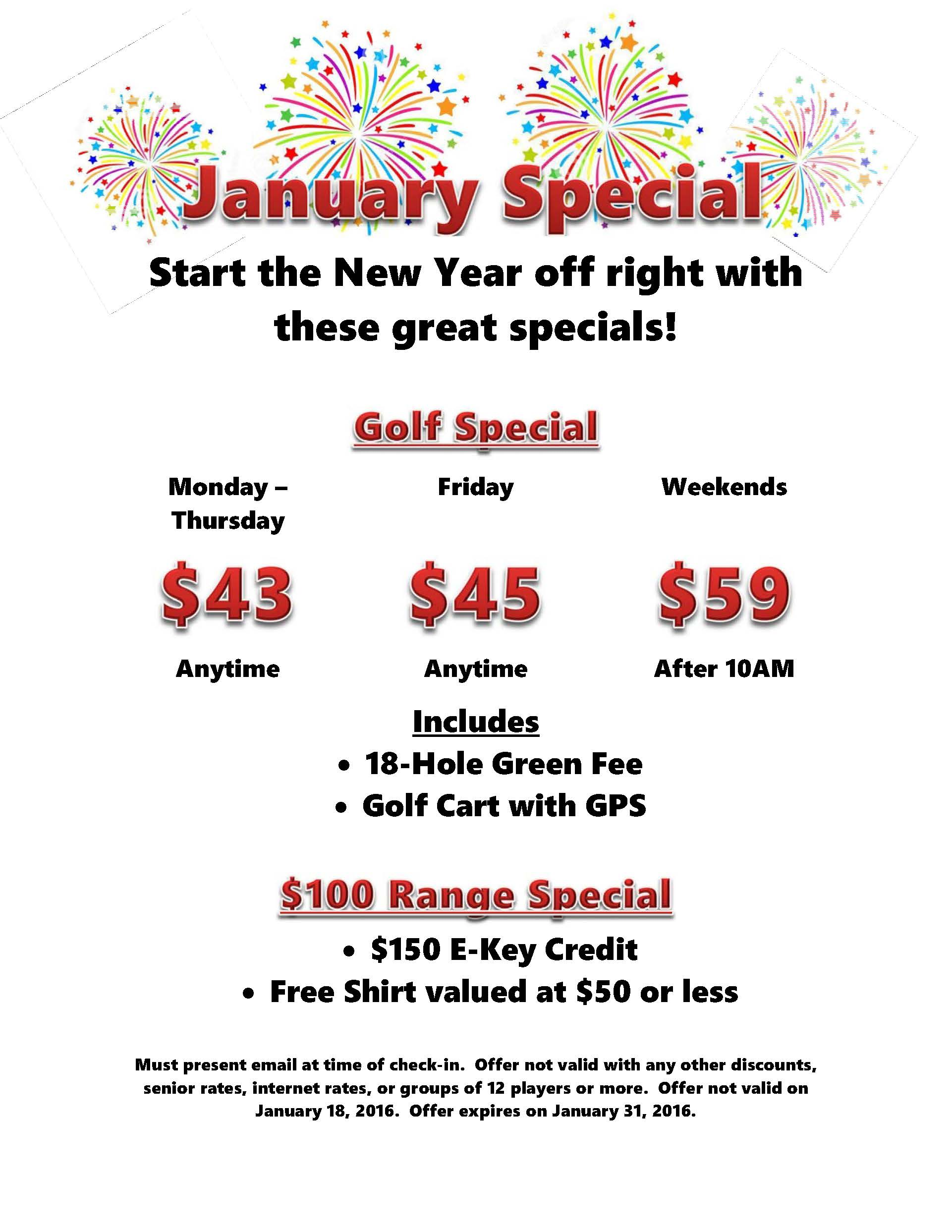 2016 January Special